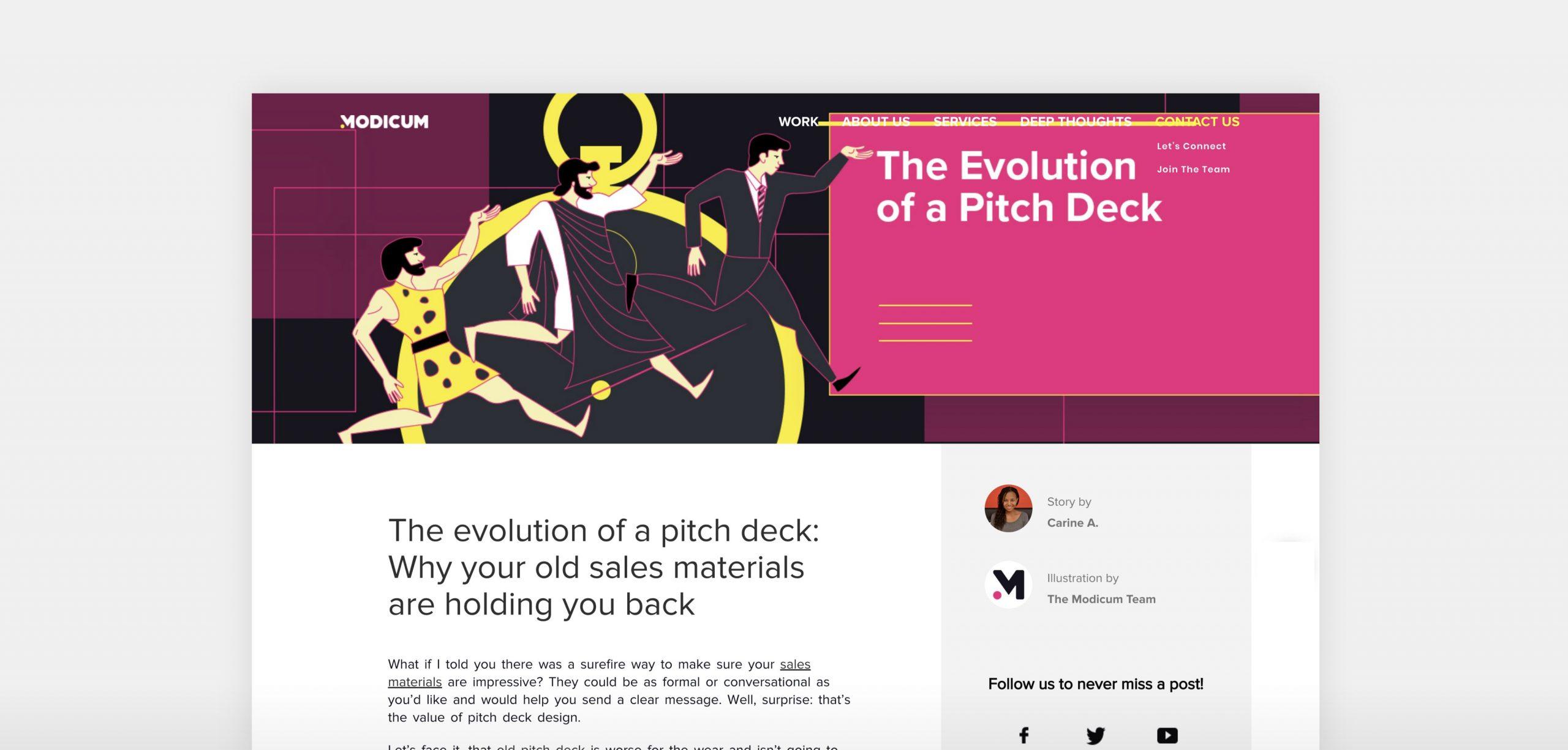 Modicum-Blog-Mockup-Evolution-Pitch-Deck