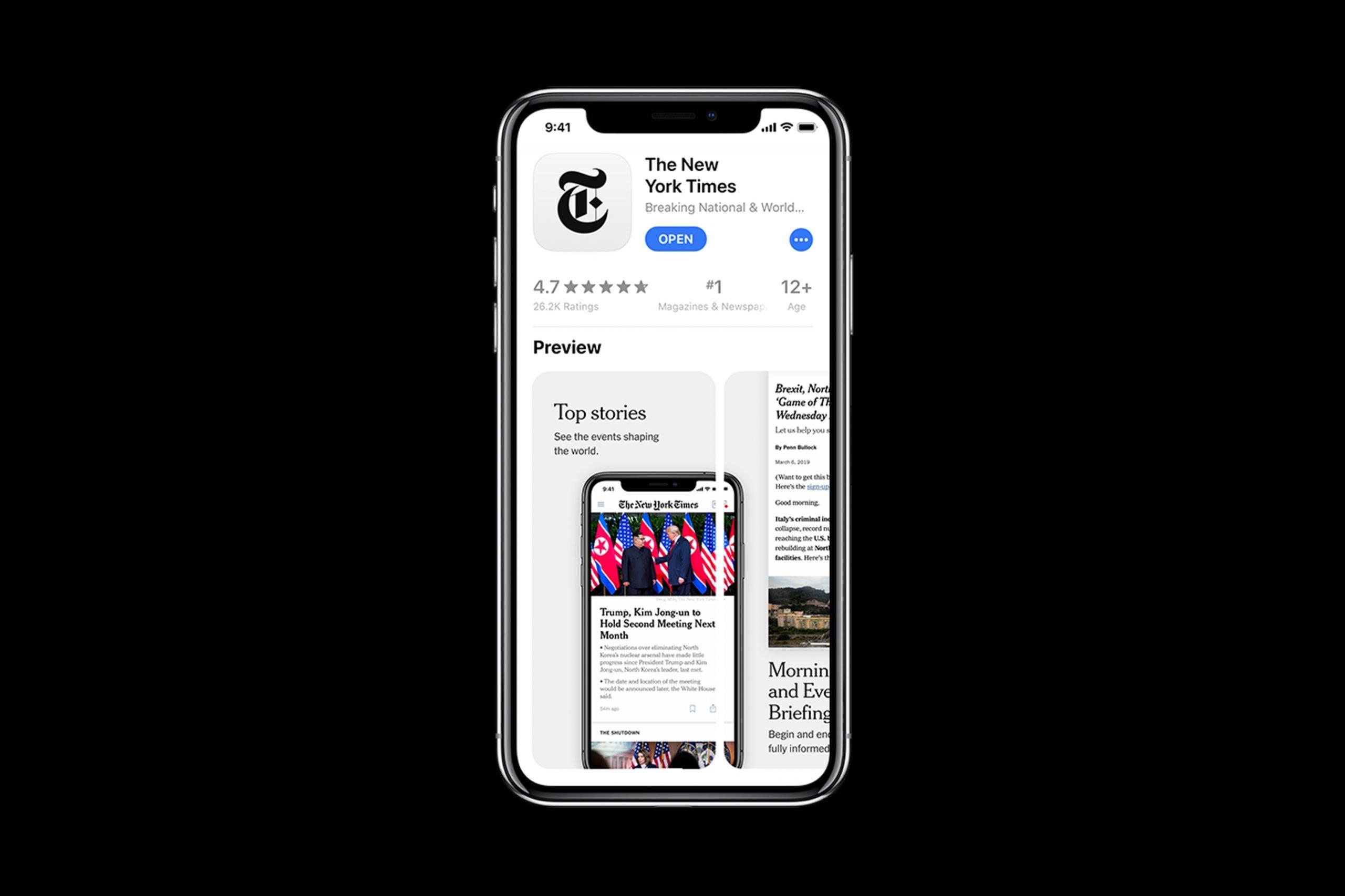 NYT App Store